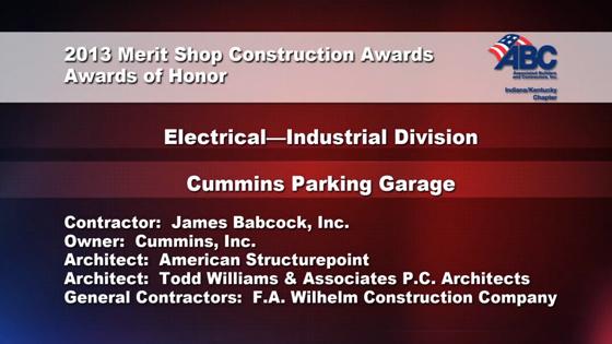 Cummins Parking Garage